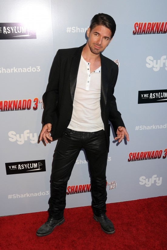 "22 July 2015 - Westwood, California - Massimo Dobrovic. ""Sharknado 3: Oh Hell No!"" Los Angeles Premiere held at iPic Theaters. Photo Credit: Byron Purvis/AdMedia"